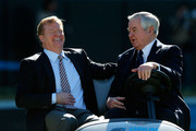 Roger Goodell and Jerry Richardson Photos Photo