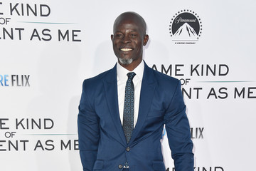 Djimon Hounsou Premiere of Paramount Pictures and Pure Flix Entertainment's 'Same Kind of Different As Me' - Arrivals
