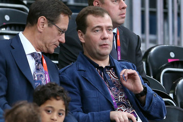 Dmitry Medvedev Olympics Day 1 - Volleyball