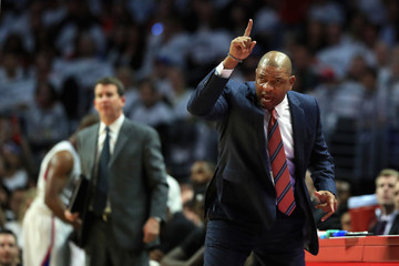 Doc Rivers Utah Jazz v Los Angeles Clippers - Game Five