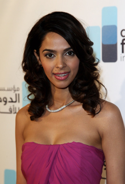 Actress Mallika Sherawat attends the Doha Film Institute launch event on May 16, 2010 in Cannes, France.