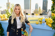 Morgan Stewart attends the Dolce & Gabbana Light Blue Italian Zest Launch Event at the NoMad Hotel Los Angeles on May 17, 2018 in Los Angeles, California.