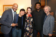 Keegan-Michael Key, Ken Jeong, Elisa Pugliese, Craig Robinson and Scott Alexander attend the 'Dolemite Is My Name' John Davis Hosted Tastemaker at a Private Residence on November 19, 2019 in Beverly Hills, California.