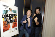 Ken Jeong and Eli Roth attend the 'Dolemite Is My Name' John Davis Hosted Tastemaker at a Private Residence on November 19, 2019 in Beverly Hills, California.