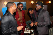 Wesley Snipes and guests attend the Dolemite Is My Name! LA Tastemaker at Soho House on January 03, 2020 in West Hollywood, California.