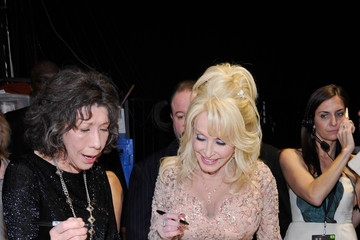Dolly Parton The 23rd Annual Screen Actors Guild Awards - Piano Room