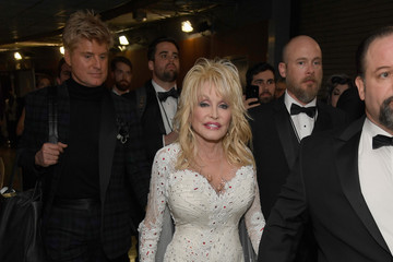 Dolly Parton 61st Annual Grammy Awards - Backstage