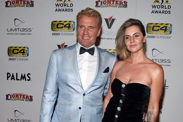 Dolph Lundgren Jenny Sandersson 11th Annual Fighters Only World MMA Awards