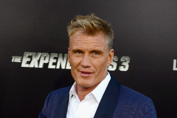 Dolph Lundgren 'The Expendables 3' Premieres in Hollywood