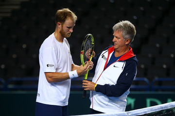Dom Inglot Great Britain v Japan - Davis Cup: Previews