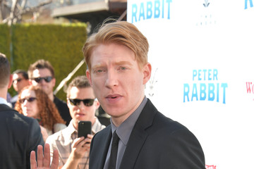Domhnall Gleeson Premiere of Columbia Pictures' 'Peter Rabbit' - Arrivals