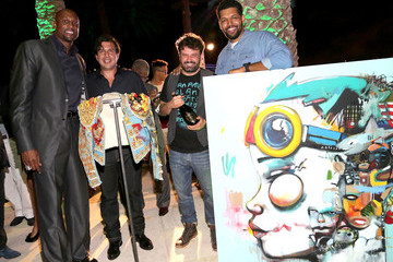 Domingo Zapata Haute Living And Hublot Celebrate The Art Of Fusion With Hebru Brantley On Star Island