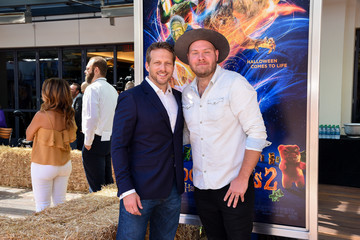 """Dominic Lewis Columbia Pictures And Sony Pictures Animation's """"Goosebumps 2: Haunted Halloween"""" Special Screening - Red Carpet"""