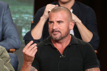 Dominic Purcell Winter TCA Tour: Day 5