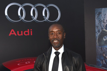 Don Cheadle Audi Arrivals at The World Premiere of 'Avengers: Age Of Ultron'