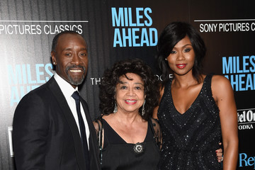 Don Cheadle Emayatzy Corinealdi  The Cinema Society with Ketel One and Robb Report Host a Screening of Sony Pictures Classics' 'Miles Ahead' - Arrivals