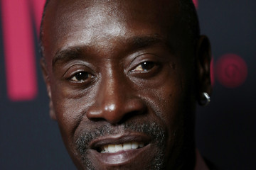 Don Cheadle Arrivals at the Showtime Emmy Eve Soiree