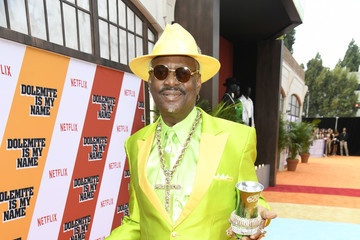 Don Magic Juan L.A. Premiere Of Netflix's 'Dolemite Is My Name' - Red Carpet