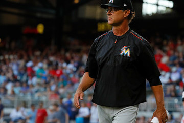 Don Mattingly Miami Marlins v Atlanta Braves