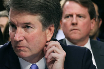 Don McGahn Senate Holds Confirmation Hearing For Brett Kavanugh To Be Supreme Court Justice
