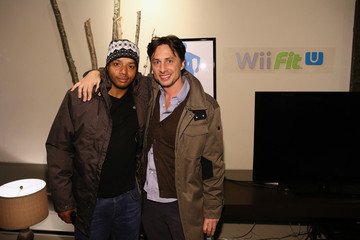 Donald Faison Wii Fit U Brings Fun And Fitness To The Nintendo Chalet During 2014 Sundance Film Festival - Day 2 - 2014 Park City
