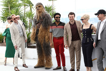 Donald Glover Phoebe Waller-Bridge 'Solo: A Star Wars Story' Photocall - The 71st Annual Cannes Film Festival