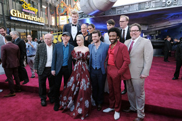 Donald Glover Thandiwe Newton Stars And Filmmakers Attend The World Premiere Of 'Solo: A Star Wars Story' In Hollywood