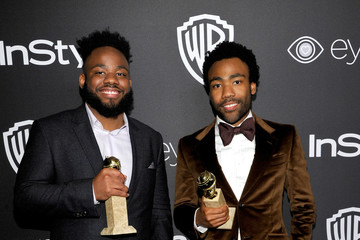 Donald Glover The 2017 InStyle and Warner Bros. 73rd Annual Golden Globe Awards Post-Party - Red Carpet
