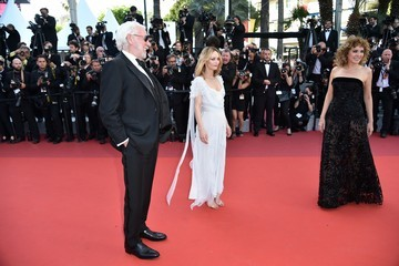 Donald Sutherland Valeria Golino 'The Last Face' - Red Carpet Arrivals - The 69th Annual Cannes Film Festival