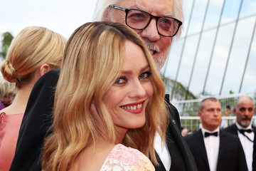 Donald Sutherland Vanessa Paradis 'Cafe Society' & Opening Gala - Red Carpet Arrivals - The 69th Annual Cannes Film Festival
