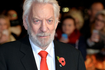 Donald Sutherland 'The Hunger Games: Mockingjay Part 1' Premiere