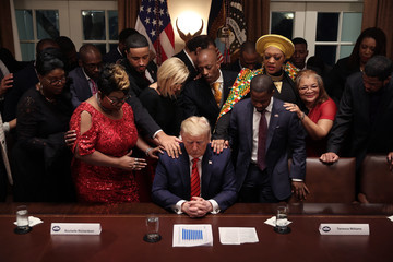 Donald Trump Angela Stanton-King News Pictures of The Week - March 5
