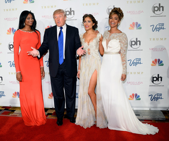 Arrivals at the Miss USA Pageant