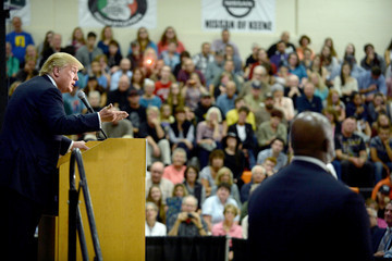 Donald Trump Donald Trump Holds Campaign Rally in Keene, New Hampshire
