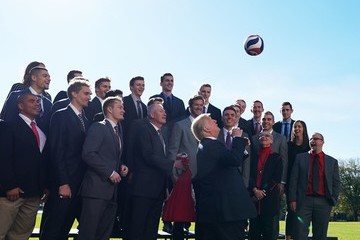 Donald Trump President Trump Hosts NCAA National Championship Teams to the White House