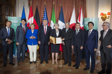 Donald Tusk G7 Leaders Meet In Sicily