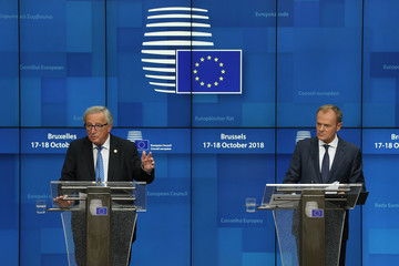 Donald Tusk The October Euro Summit Takes Place In Brussels