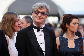 Donata Wenders Wim Wenders 'Sink Or Swim (Le Grand Bain)' Red Carpet Arrivals - The 71st Annual Cannes Film Festival