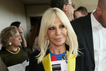Donatella Versace Heavenly Bodies: Fashion & The Catholic Imagination Costume Institute Gala - Press Preview