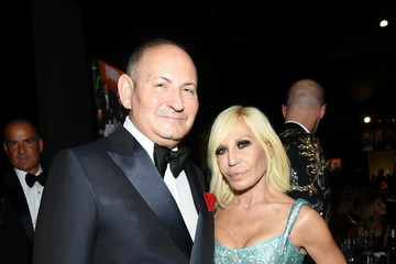 Donatella Versace 28th Annual Elton John AIDS Foundation Academy Awards Viewing Party Sponsored By IMDb, Neuro Drinks And Walmart - Inside