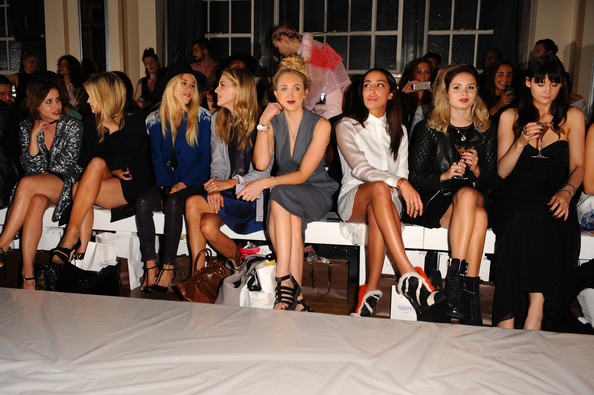 Day 1: Front Row - London Fashion Week SS15