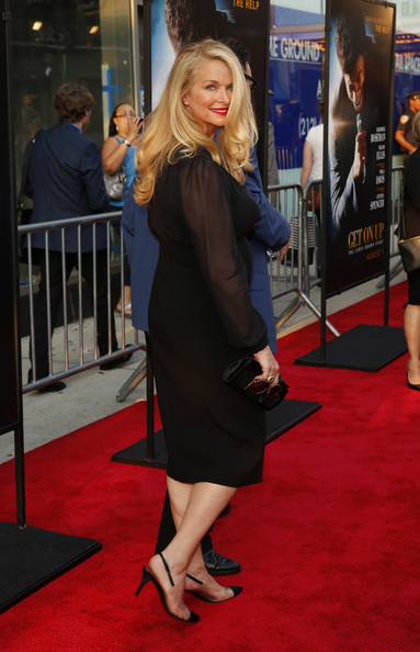Donna Dixon Photos Photos - Get On Up Premieres in NYC
