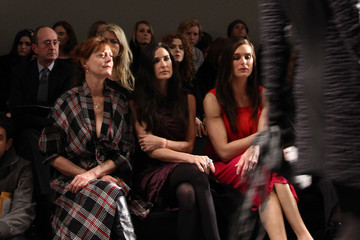 Brook Shields Donna Karan Collection - Front Row - Fall 2010 MBFW
