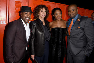 """Donna Langely Premiere Of Universal Pictures' """"Night School"""" - Red Carpet"""