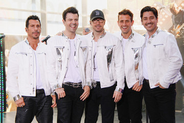 Donnie Wahlberg Danny Wood Bands Perform on 'The Today Show' in NYC