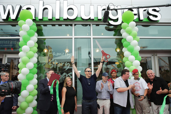 Celebrities Attend the 'Wahlburgers' Coney Island Preview Party