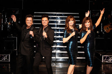 Donny Osmond Donny & Marie Unveil Madame Tussauds Wax Figures in Las Vegas