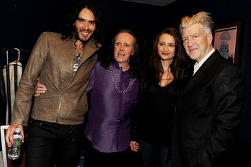 David Lynch Russell Brand Donovan And Friends In Concert At The El Rey Theatre