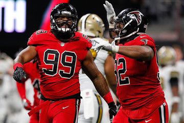 Dontari Poe New Orleans Saints v Atlanta Falcons