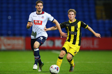 Dorian Dervite Bolton Wanderers v Burton Albion - Capital One Cup First Round